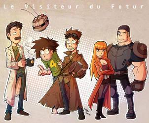 Le Visiteur du Futur by DarkTod