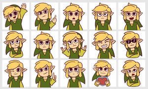 Toon Link Telegram Stickers by Chromel