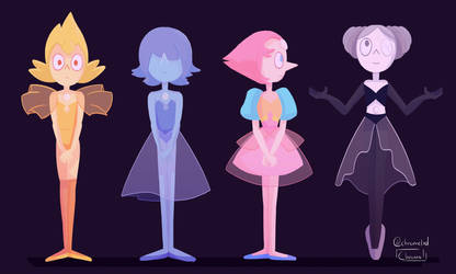 Pearls of Steven Universe by Chromel
