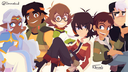 The Paladins of Voltron by Chromel