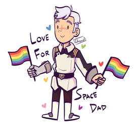 space dad appreciation hour by Chromel