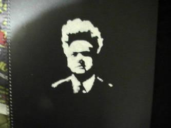 Eraserhead stencil by jesustrashcan