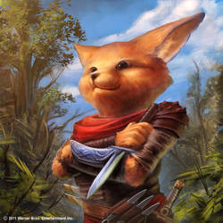 Foxling Bladesman by DylanPierpont