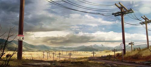 Colorado Plains Art Test by DylanPierpont