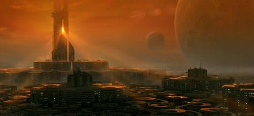 Liberty - Hex City by DylanPierpont