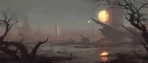 Ashen Dusk by DylanPierpont