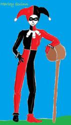 Harley Quinn by glindalover