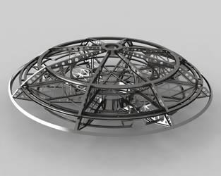 Jupiter 2  Ship Framework 1 by Flash-Graphics