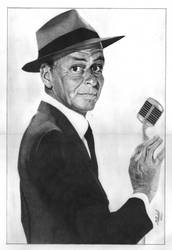 Frank Sinatra (Graphite) by mchurchill1982