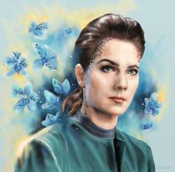 Jadzia Dax by Shade-of-Stars