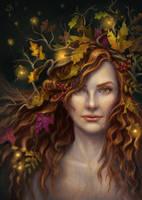 Autumn Spirit by Shade-of-Stars