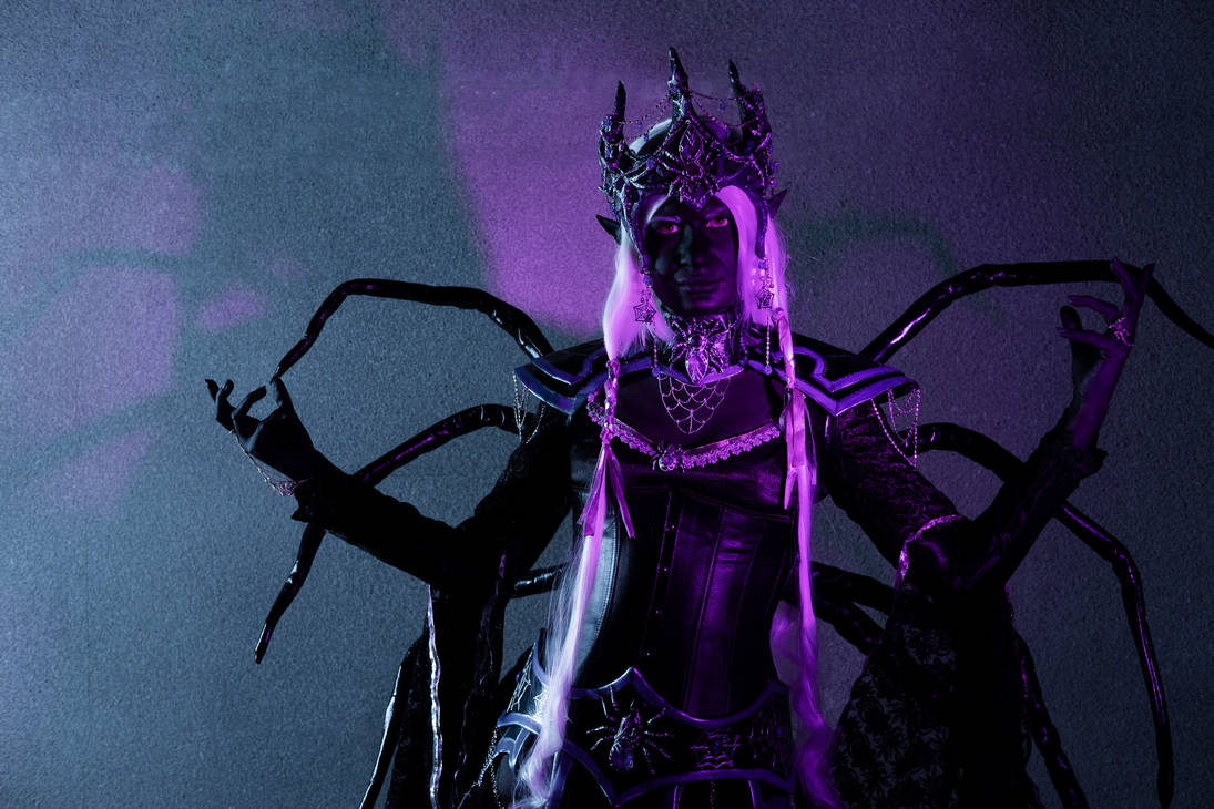 Priestess of Lolth 1 by Shade-of-Stars