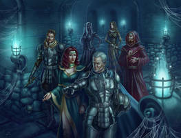 Commission: Baldur's Gate party by Shade-of-Stars