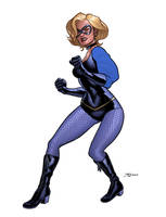 Black Canary Redesign by quin-ones