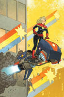 Captain Marvel, No. 12 by quin-ones