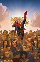 Captain Marvel, No. 17 by quin-ones