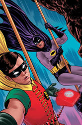 Batman '66 Selfie by quin-ones