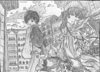 Kazuya und Victoria by mikalein