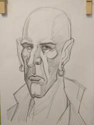 Portrait practice, elongated by exuIam