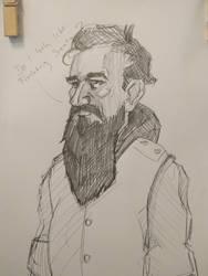 Portrait practice, not santa by exuIam