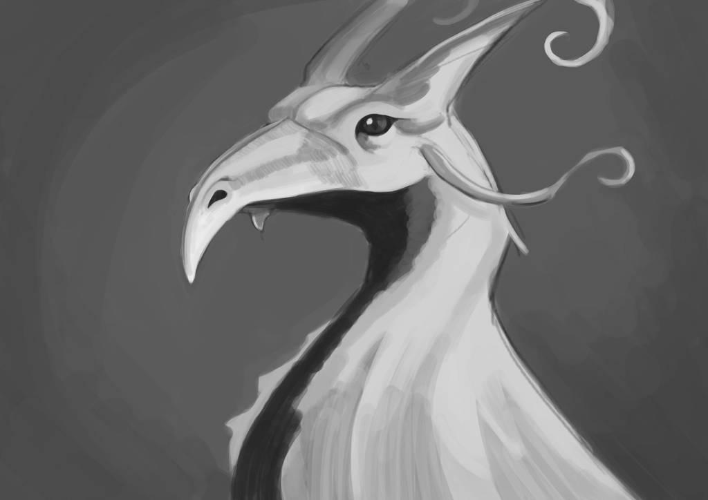 Silver Phoenix by exuIam