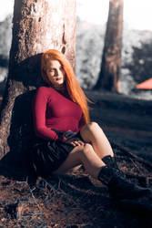 A little redhead... by SukaDiablita