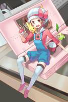 kotone pokemon by momori68