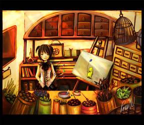 Free Spirit-concept art by nanami-yuki