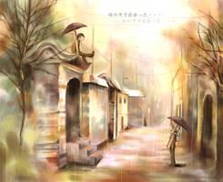 In the Rain by nanami-yuki