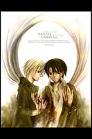 Harry and Draco by nanami-yuki