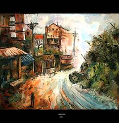 Torn Between Two Worlds by nanami-yuki