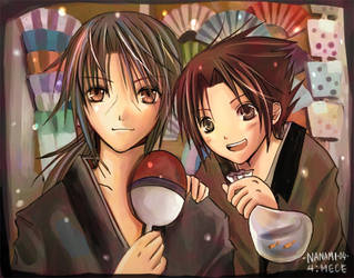 The Uchiha Brothers by nanami-yuki