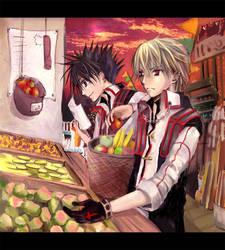 Market Scene by nanami-yuki