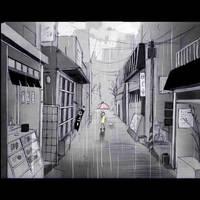 On a rainy day... by nanami-yuki