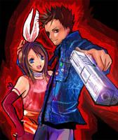 Bunny and Clydo by nanami-yuki
