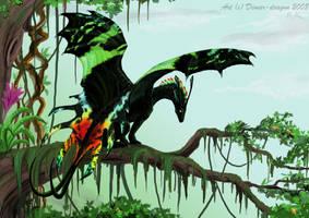 Urania moth by rag-chimera