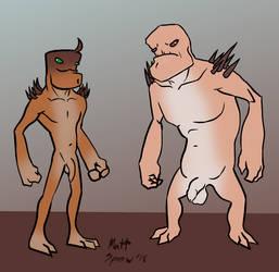 Some Alien Bros by GayMetal