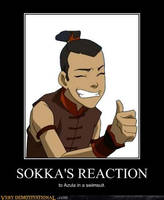 Sokka's Reaction by LucianGurl39