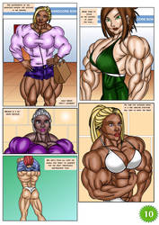 Angie Nakamura #1 page 10 by LordKelvin