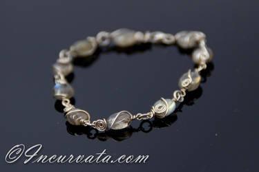Electra Labradorite Beaded Bracelet by youvegotmaille
