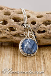 Kyanite Mixed Metalsmithing and Wire Wrapping by youvegotmaille