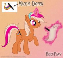 Ruki pony V2 by RukiFox