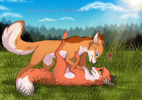 Abby and  Rick - Let me be your Valentine 2014 by RukiFox