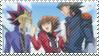 Yugi-Judia-Yusei Stamp by KisaraAkiRyu