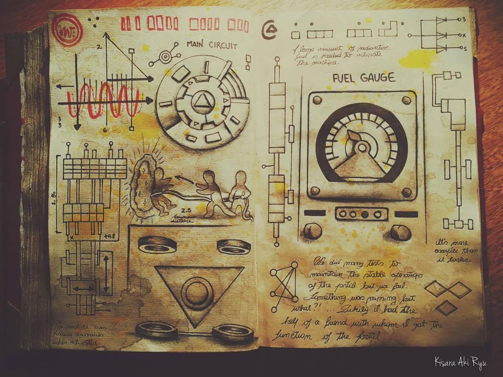 Journal 3 Gravity Falls By KisaraAkiRyu On