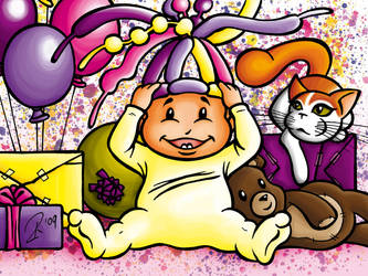 November or Birthday Baby by spaceship505