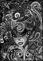 Dame Doodle Grey by spaceship505