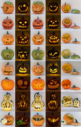 A Whole Lotta Pumpkins by spaceship505