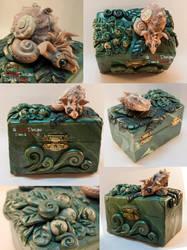 Dragon Snail Box by spaceship505