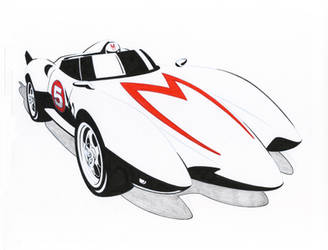 MACH 5 Graphic by Jerome-K-Moore
